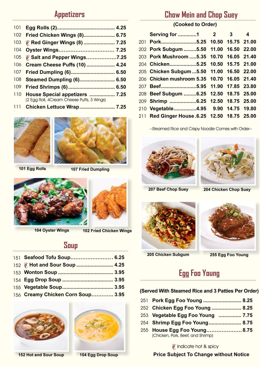 menu part1